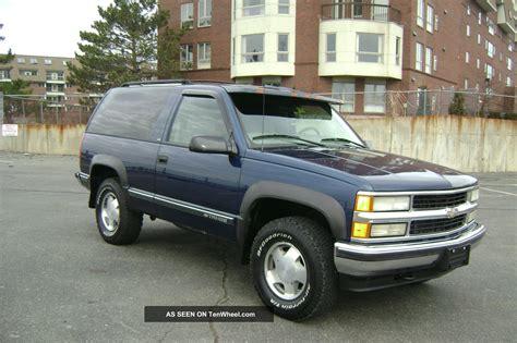 1999 Chevy Tahoe 2 Door by 1999 Chevy Chevrolet Tahoe Ls 2 Door V8 Auto 4x4
