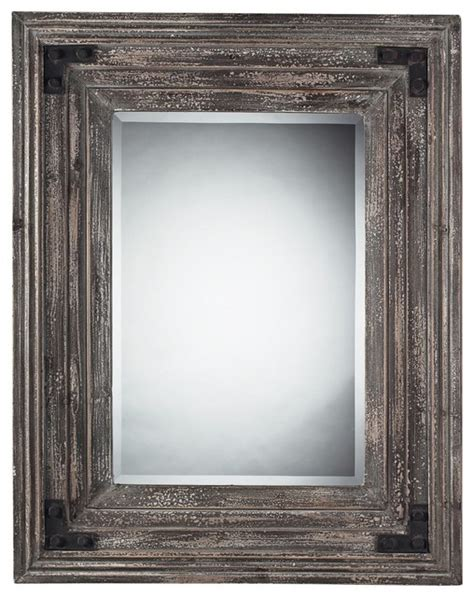 country wall mirrors country cottage staffordshore 18 quot high reclaimed wood