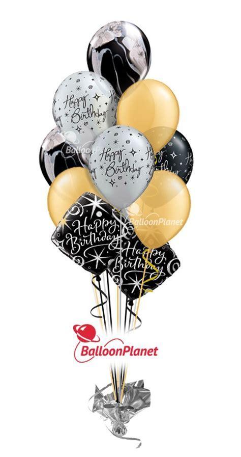 Elegant Celebration Birthday Balloon Bouquet (12 Balloons
