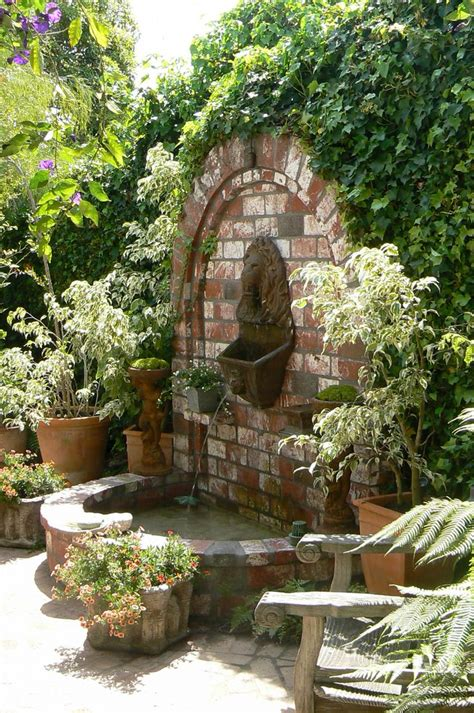 patio fountains 25 best ideas about small fountains on garden