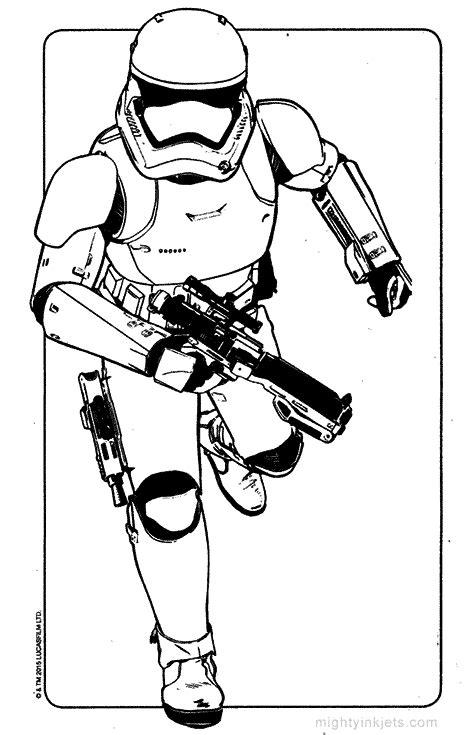 stormtrooper coloring pages 10 free wars coloring pages chewbacca kylo ren