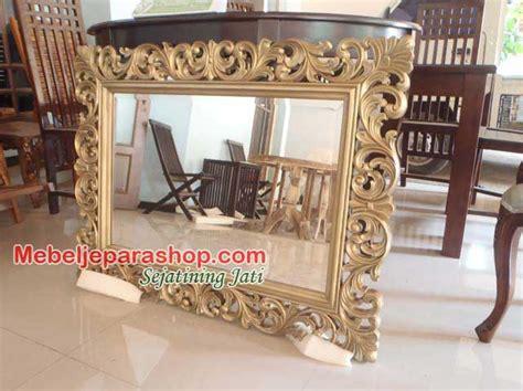 Cermin Untuk Salon frame pigura cermin ukir mebel jepara shop