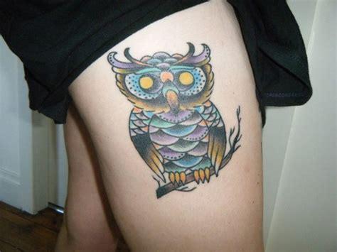 owl tattoo designs thigh 40 excellent owl tattoo ideas creativefan