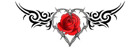 tattoo rosa png gothic heart png www imgkid com the image kid has it