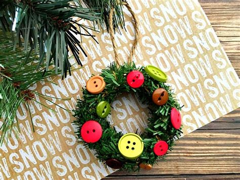 wreath diy mini jar lid ring wreath diy tree ornament