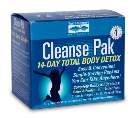 Where Can I Buy A Detox Kit by Cleanse Pak 14 Day Total Detox Kit Part 2 Sle 8g