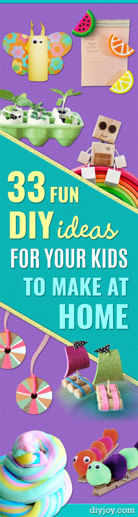 make home 33 fun diy ideas for your kids to make at home page 4 of