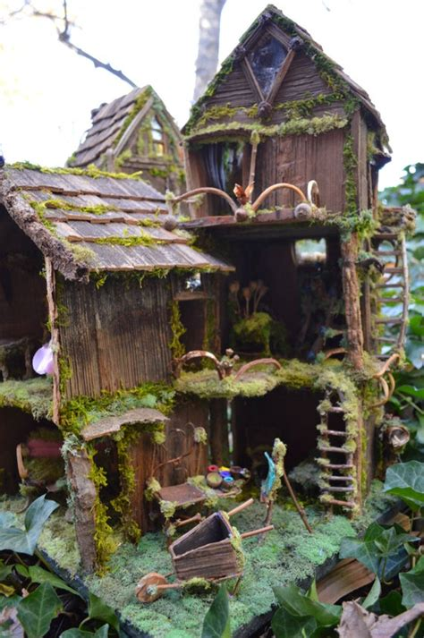 print     canvas fairy house