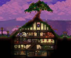 terraria hobbit hole house design gaming