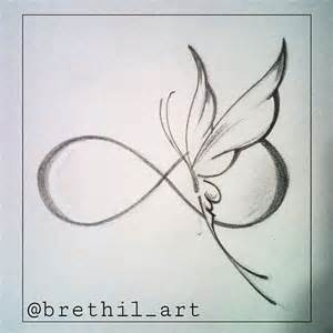Infinity Butterfly Best 25 Infinity Symbol Ideas On