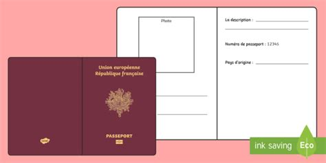 activity pass card template passport activity day of language european