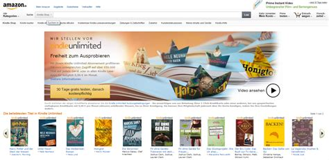 amazon unlimited books amazon startet e book flatrate kindle unlimited in