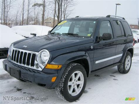 2006 Jeep Liberty Limited 2006 Jeep Liberty Limited 4x4 In Midnight Blue Pearl