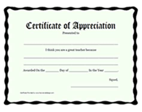 free certificate templates for teachers printable teachers appreciation week certificates awards
