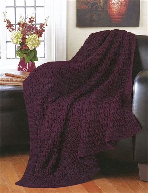 mary maxim free easy zigzag afghan knit pattern decorator throws from knitpicks com knitting by mary maxim