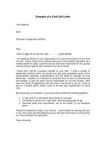 Cold Cover Letter Exles by 29 Interesting Cold Call Cover Letter Exles Vntask