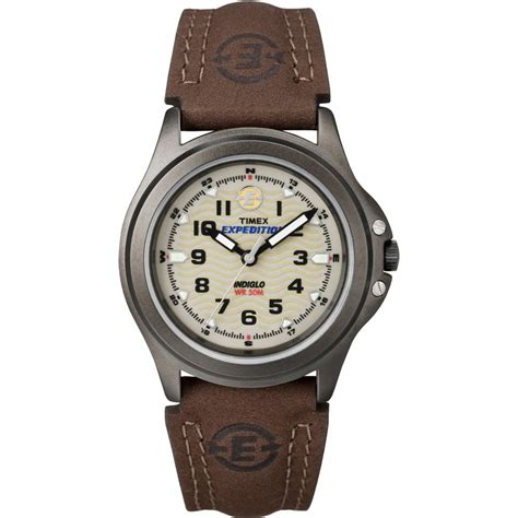 Timex T47042 Women's Expedition Field Brown Strap Watch T47042   Timex from British Watch Company UK