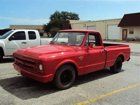 chevy truck bed for sale sell used 1967 chevy c 10 short bed pickup truck in saint