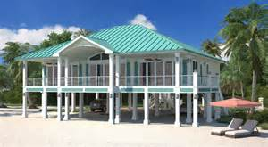 beach house plans on piers clearview 2400p 2 2400 sq ft on piers beach house plans