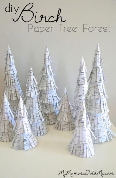 Birch Tree Paper For Crafts - diy birch trees tutorial hello nutritarian