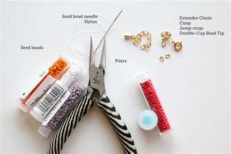 what tools do you need to make jewelry how to make seed bead bracelets free tutorial on craftsy