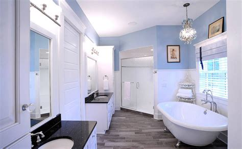 Light Blue And White Bathroom Ideas by 15 Master Bathroom Ideas For Your Home Home Design Lover