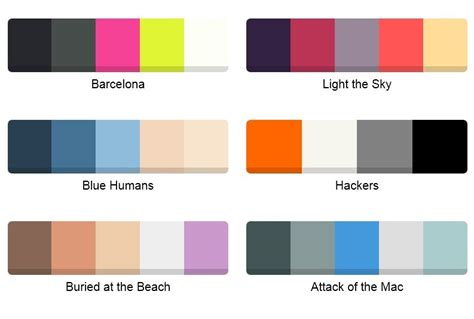 palette of colors jquery color palette plugins jquery script