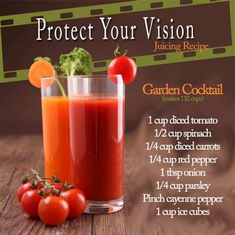 printable healthy juice recipes tasty thursday protect your vision juicing recipe
