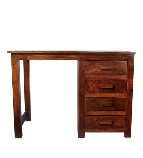 wooden study tables olida mango wood study table by mudra study