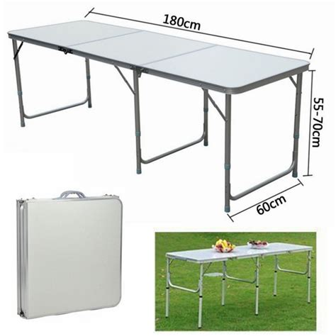 heavy duty metal folding table portable adjustable folding trestle table heavy duty metal