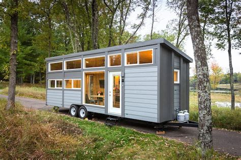 groovy new tiny house with size appliances can sleep