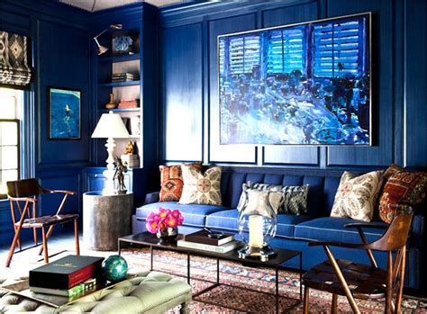 cobalt blue living room a cobalt blue living room rue my plaza apartment ideas
