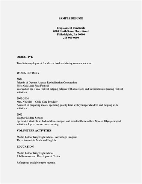 Resume Template To Fill In by Easy Fill In Resume Template Resume Template Cover Letter