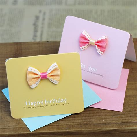 Small Handmade Greeting Cards - aesthetic gift card exquisite handmade greeting card