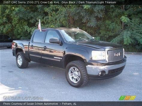 2007 gmc z71 onyx black 2007 gmc 1500 z71 crew cab 4x4