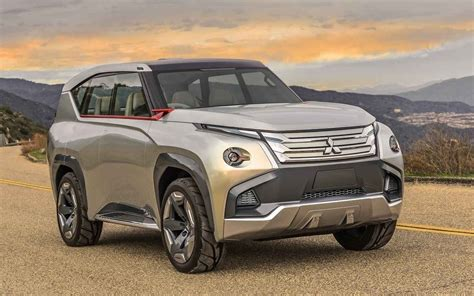 mitsubishi pajero model mitsubishi pajero 2019 model concept redesign and review