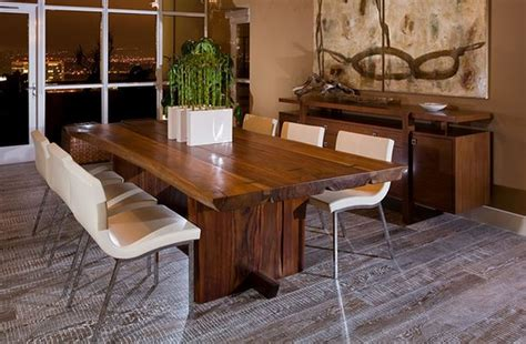 Formidable Salle A Manger Contemporaine En Chene #1: table-salle-à-manger-design-bois.jpg