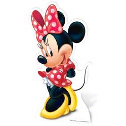 minnie mouse large cardboard cut 100 official ebay