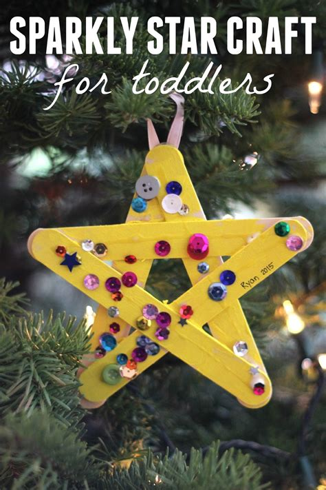 stars craft children toddler approved sparkly craft for toddlers