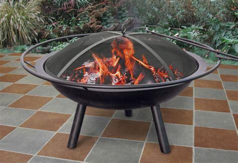 moveable pit portable firepit sharper image