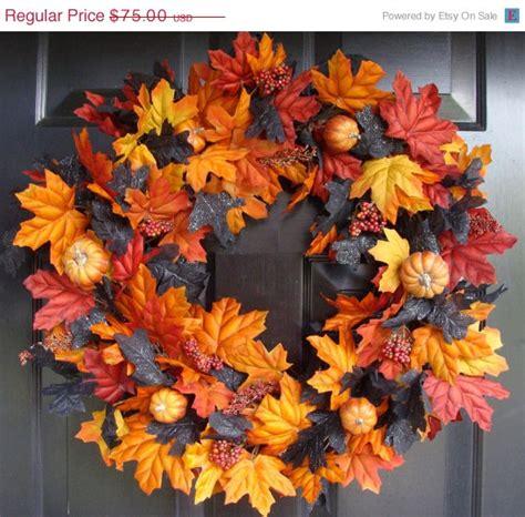 fall decorations on sale on sale wreath decor by elegantwreath