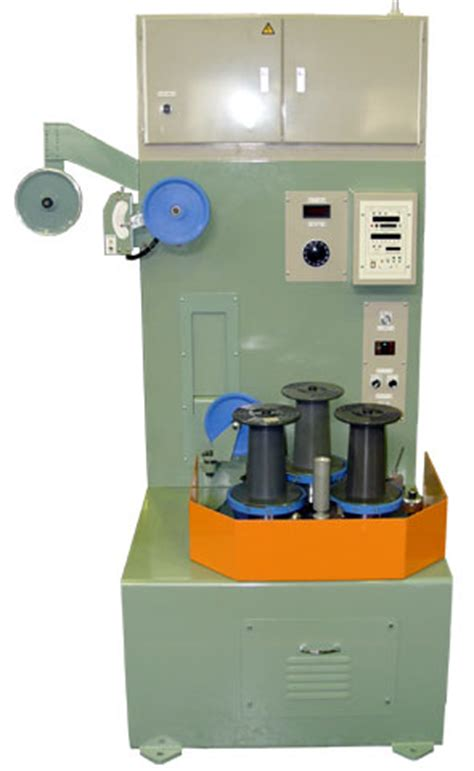 winding up of section 25 company quot tasv25 3shafts quot vertical turret type automatic bobbin