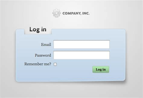 free login layout css modal login pages css tricks