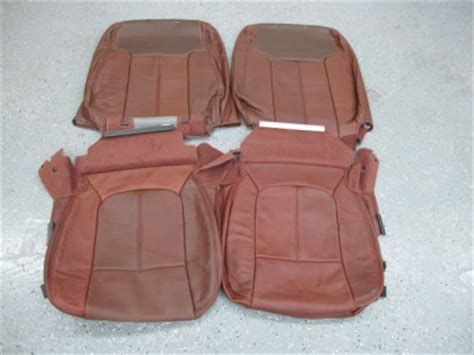 2005 ford king ranch seat covers 2011 ford f250 crew king ranch leather seat covers ebay