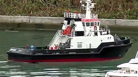 tugboat odin harbour tug boat modelsleepboot youtube
