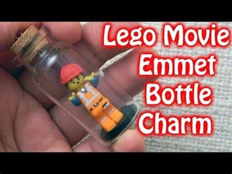 tutorial lego movie lego movie emmet miniature bottle charm polymer clay