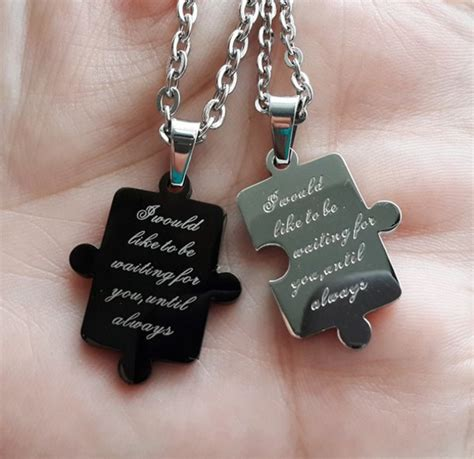 couples gift ideas for valentines jewels his and hers necklaces anniversary gifts cheap