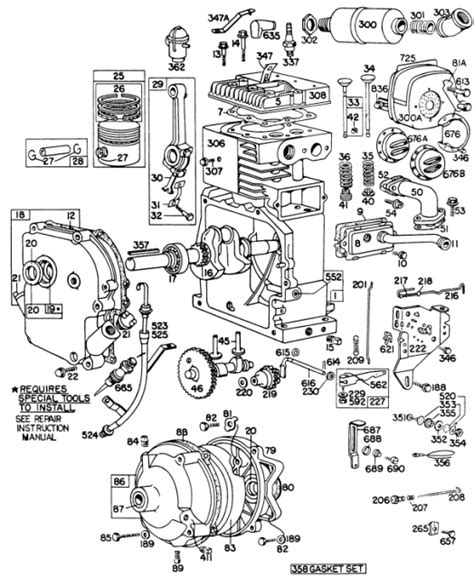 6 best images of briggs stratton engine wiring diagram briggs and stratton 18 hp wiring