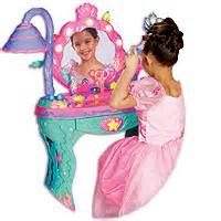 Disney Princess Magical Talking Vanity Disney Princess Ariel S Mermaid Magical Vanity Talking Salon New Ebay