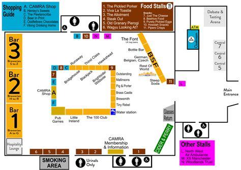 floor plan 2018 manchester cider festival